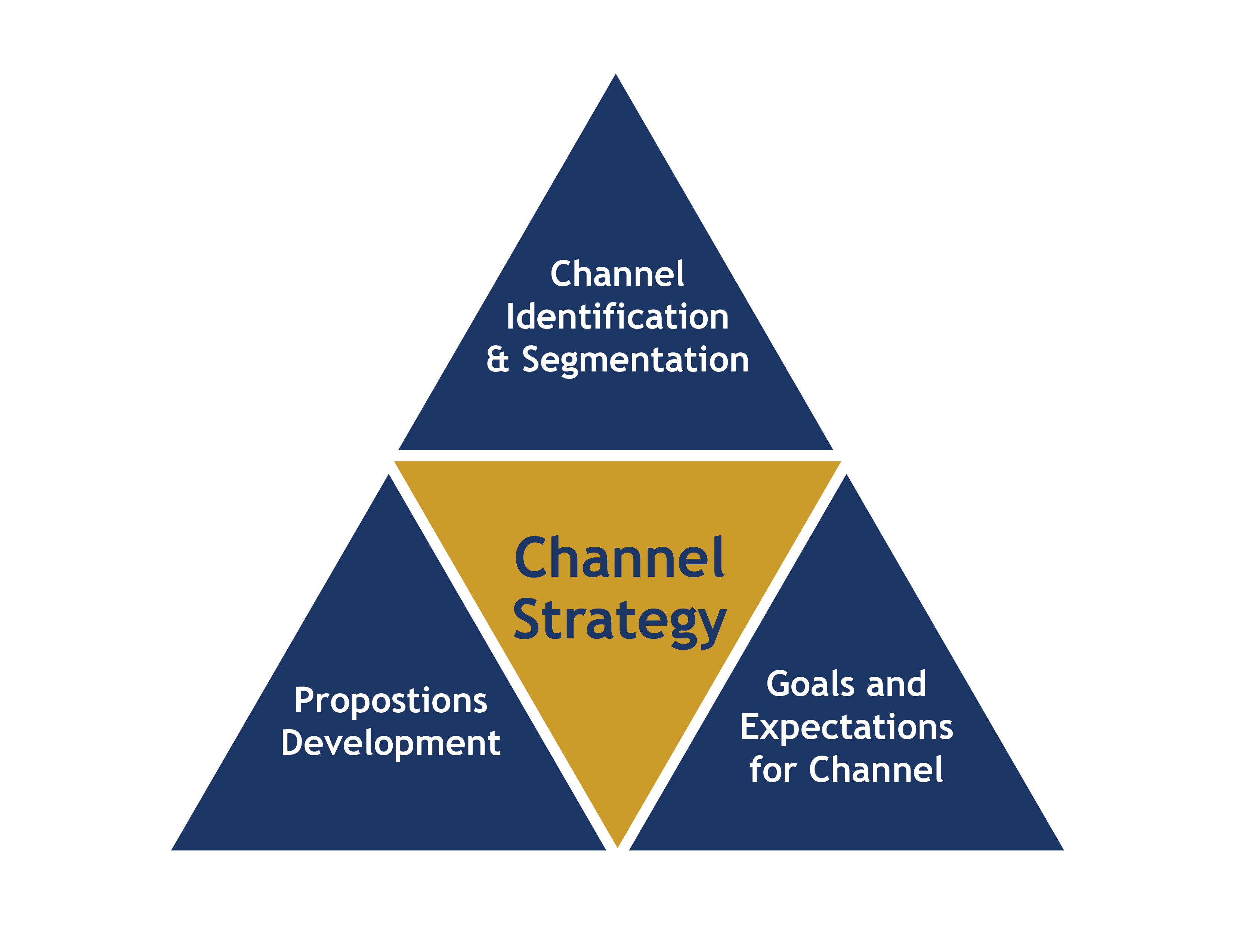 channel strategy Channel strategy could be a significant 'stone unturned' in the battle to win customers and patients.